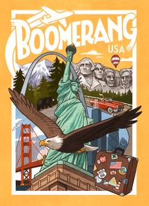 Boomerang: USA Cover Artwork