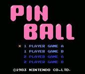 Video Game: Pinball (1984 / NES)