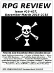 Issue: RPG Review (Issue 26 & 27 - Dec/Mar 2014/2015)