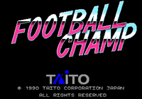Video Game: Football Champ