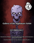 RPG Item: CCC-DWB-GNA-1: Gallery of the Nightmare Artist