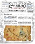 RPG Item: Convicts & Cthulhu: Ticket of Leave #03: Criminal Enterprise
