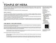 RPG Item: Temple of Hera