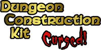 Board Game: Dungeon Construction Kit: Cursed!