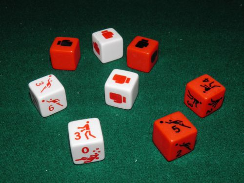 Board Game: Sport Dice Boxing / Sport Dice Basketball