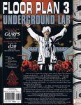 RPG Item: Floor Plan 3: Underground Lab