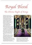 Issue: EONS #28 - Royal Blood: The Divine Right of Kings