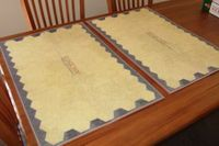 Board Game Accessory: Commands & Colors Ancients: Mounted Mapboard