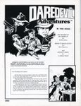 RPG Item: Daredevil Adventures Vol. 2 No. 1: Featuring Deadly Coins