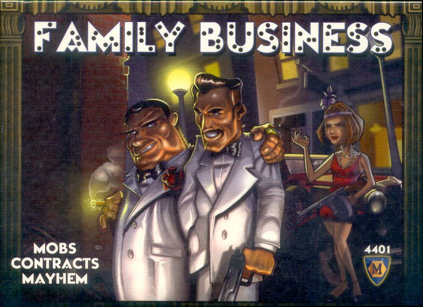 Family Business | Board Game | BoardGameGeek