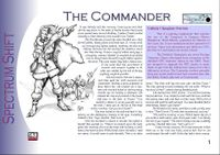 RPG Item: The Commander