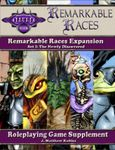 RPG Item: Remarkable Races Expansion Set 1: The Newly Discovered