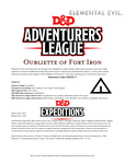 RPG Item: DDEX2-11: Oubliette of Fort Iron