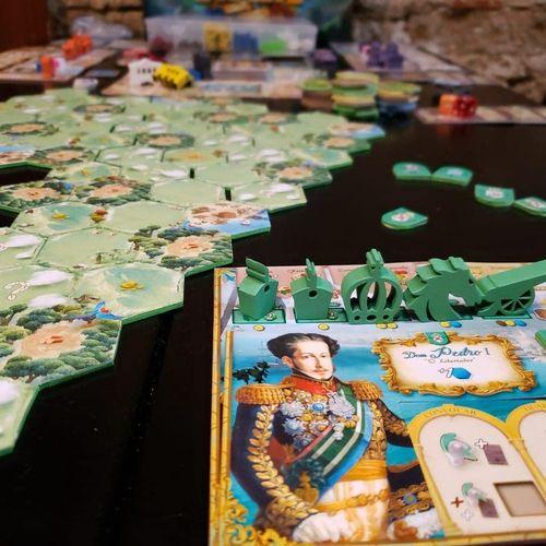 Board Game: Brazil: Imperial