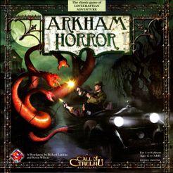 Arkham Horror Cover Artwork