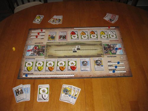 Board Game: Tournament Joust