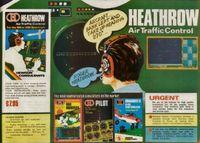 Video Game: Heathrow International Air Traffic Control