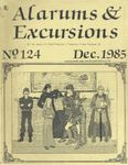 Issue: Alarums & Excursions (Issue 124 - Dec 1985)