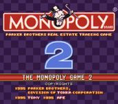 Video Game: Monopoly Game 2