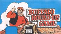 Board Game: Buffalo Round-Up Game