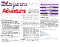 RPG Item: Bizarre & Adventure