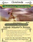 RPG Item: Lejend Master's Screen