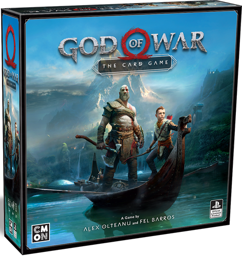 Board Game: God of War: The Card Game