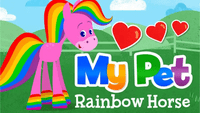 Video Game: My Pet Rainbow Horse