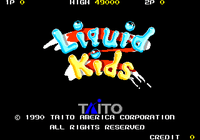 Video Game: Liquid Kids