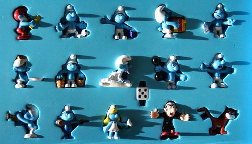 Board Game: Smurfspelet