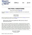 RPG Item: The Pool Variations