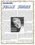 RPG Item: Advanced Class: Femme Fatale