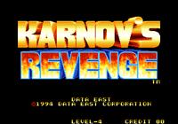 Video Game: Karnov's Revenge