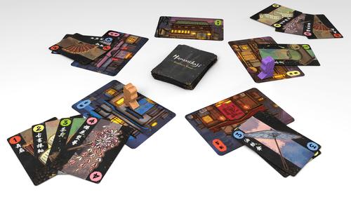Board Game: Hanamikoji: Geisha's Road