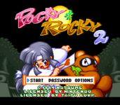 Video Game: Pocky & Rocky 2
