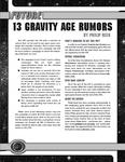 RPG Item: 13 Gravity Age Rumors