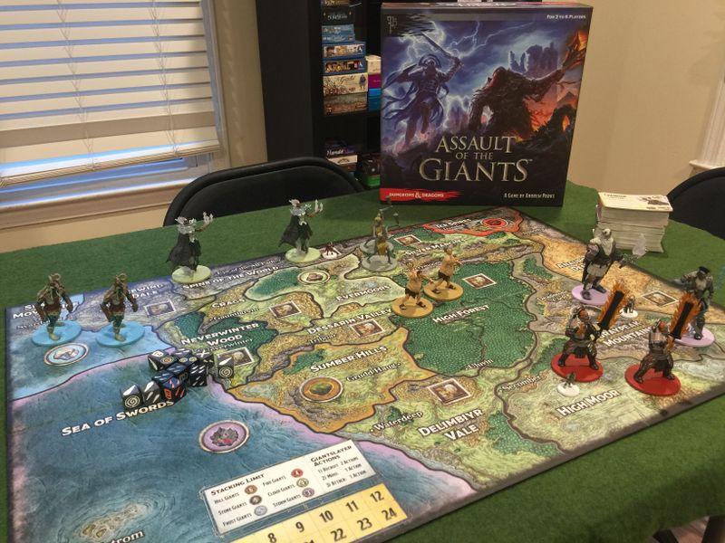 Assault Of The Giants Image Boardgamegeek