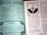 Issue: Codex (Volume 1, Number 2 - Spring 1994)