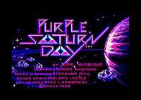 Video Game: Purple Saturn Day