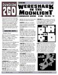 RPG Item: Wereshark in the Moonlight