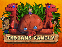Video Game: Indians Family