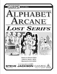RPG Item: GURPS Alphabet Arcane: Lost Serifs