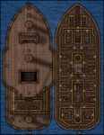 RPG Item: VTT Map Set 052: The Smuggler's Ship