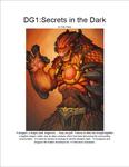 RPG Item: DG01: Secrets in the Dark