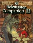 RPG Item: Rolemaster Companion III