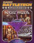 Board Game: Classic Battletech: Handbook House Marik