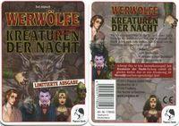 Board Game: Ultimate Werewolf: Night Terrors