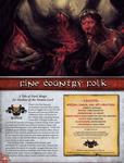 RPG Item: Fine Country Folk