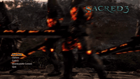 Video Game: Sacred 3