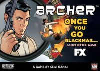 Board Game: Archer: Once You Go Blackmail...